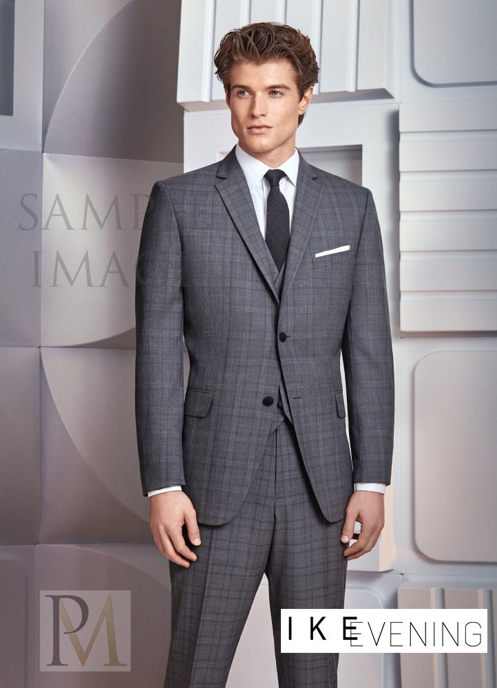 Ike Behar Plaid 'Hamilton' Suit