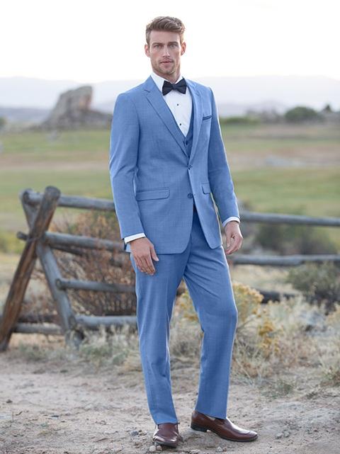 Cornflower 'Brunswick' Suit