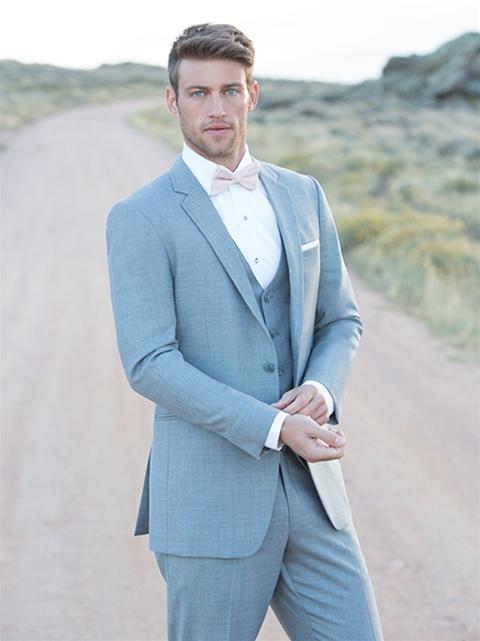 Linen Grey 'Brunswick' Suit