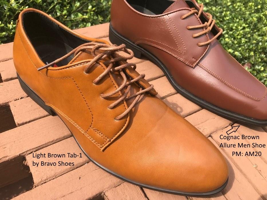 Light Brown Tab1 Shoe