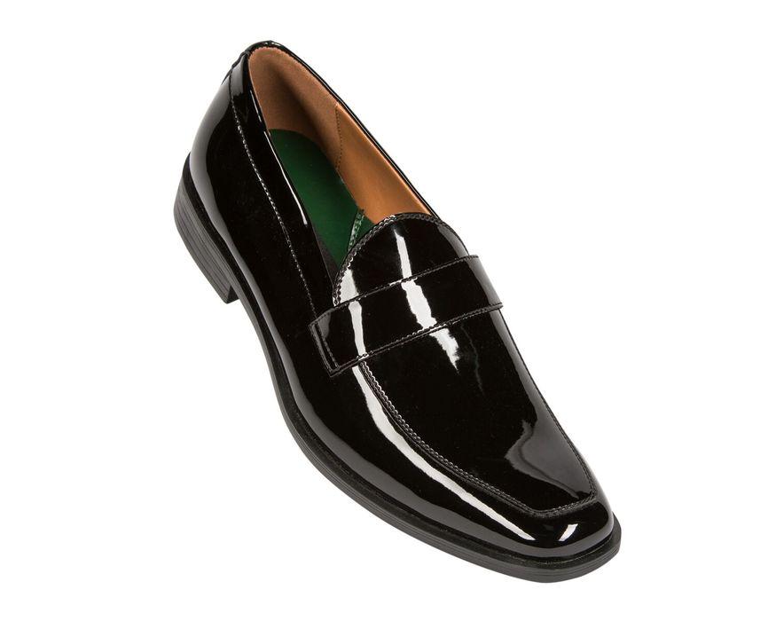 Black Patent Miami Slipon