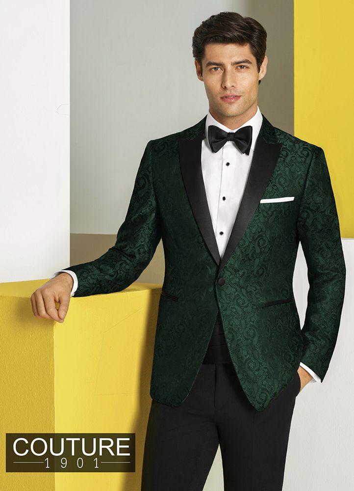 Green Paisley 'Chase' Tuxedo