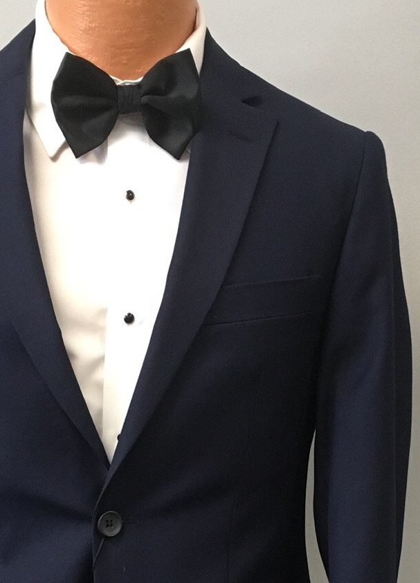 Navy Suit by David Major