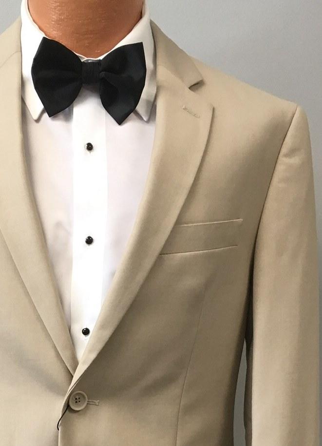 Tan Suit by David Major