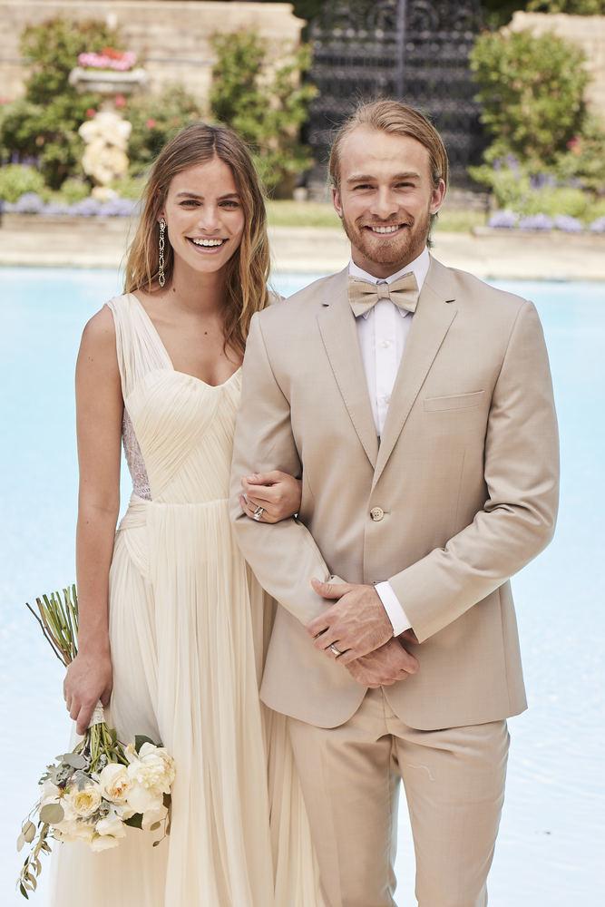 Tan 'Aruba' Suit' Tuxedo