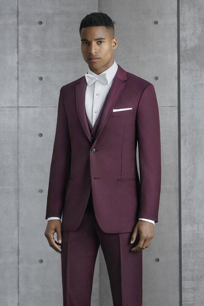 Burgundy 'Liberty' Suit