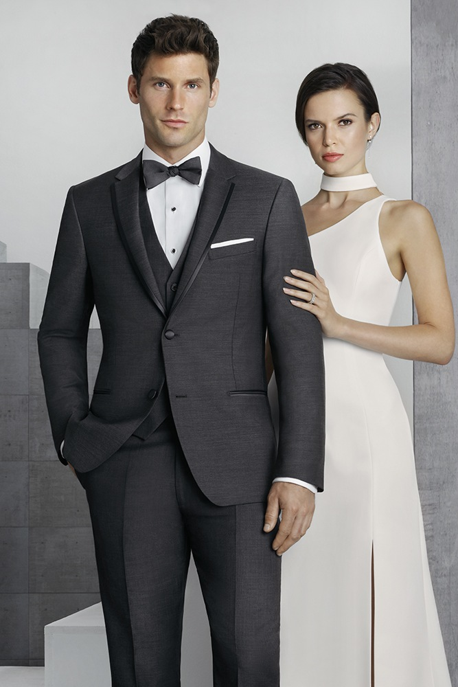 Steel Grey 'Barrow' Tuxedo