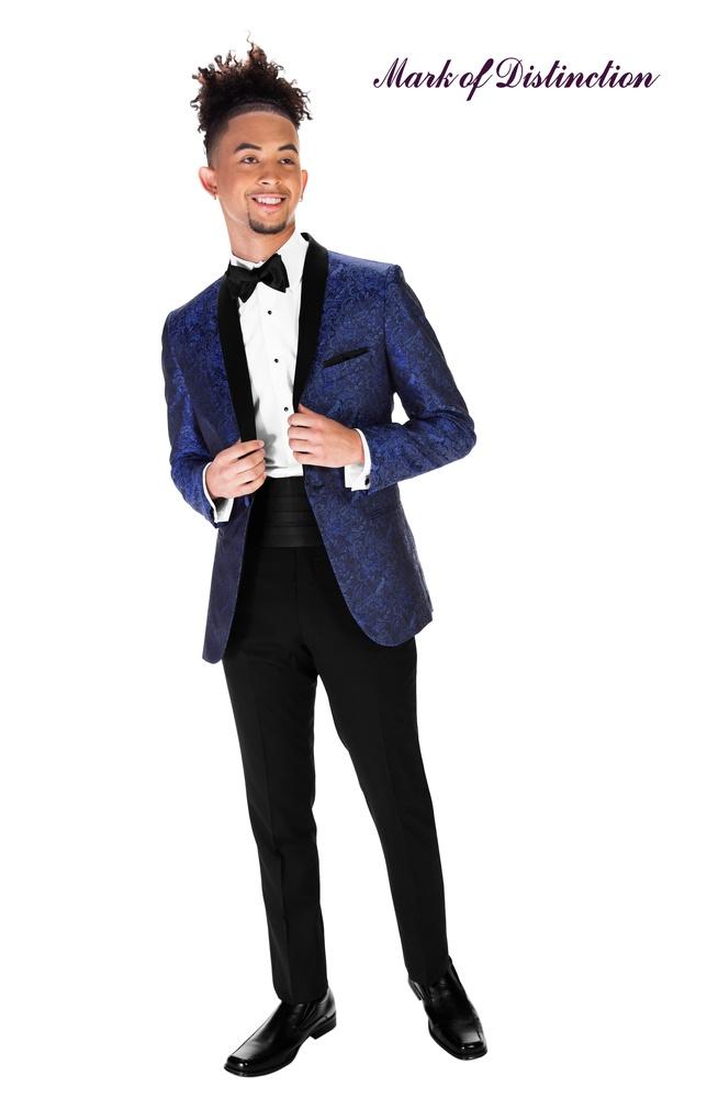 Cobalt Blue Aries Tuxedo
