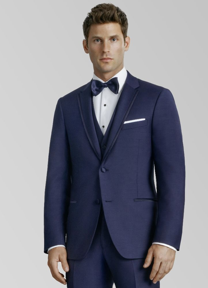 Navy 'Thompson' Tuxedo by Kenneth Cole